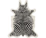 Handgetuft wollen vloerkleed Savanna Zebra