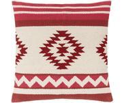 Geweven kussenhoes Tuca met etnisch patroon