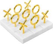 Marmeren bordspel Tic Tac Toe