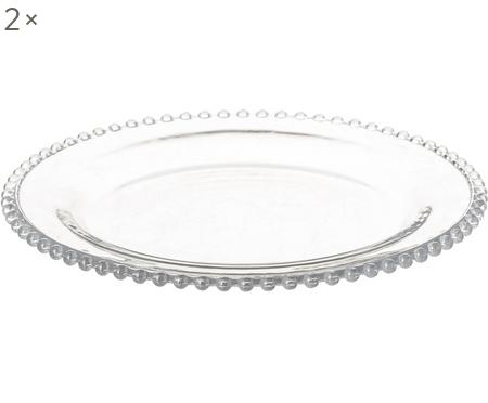 Dinerborden Perles, 2 stuks
