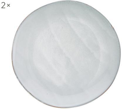 Handgemaakte ontbijtborden Thalia, 2 stuks