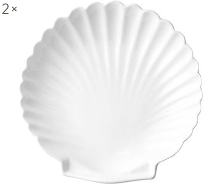 Dinerbord Shell, 2 stuks