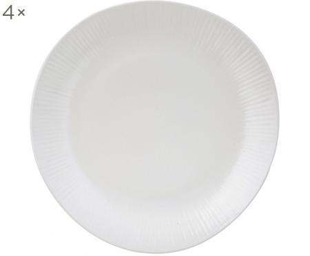 Handgemaakte dinerborden Sandvig, 4 stuks