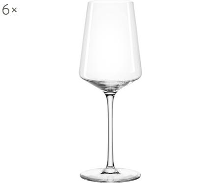 Witte wijnglazen Puccini, 6 stuks