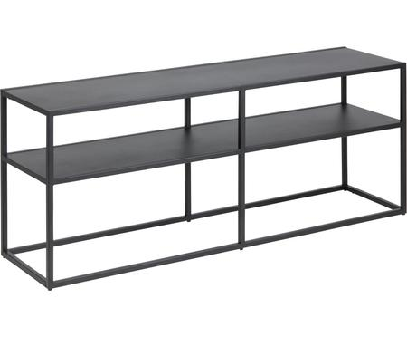 Metalen tv-meubel Newton in zwart