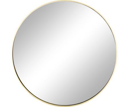 Ronde wandspiegel Ada met goudkleurige lijst