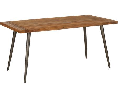 Eettafel Kapal met massief houten tafelblad