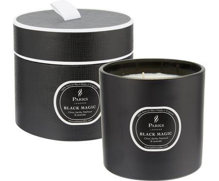3-lonts geurkaars Black Magic (citrus & vanille)