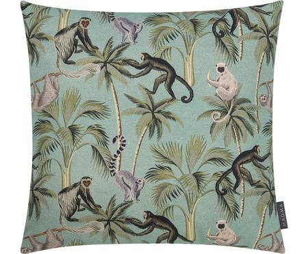 Dubbelzijdige kussenhoes Backwoods met tropische print