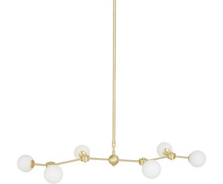 Grote hanglamp Aurelia goudkleurig