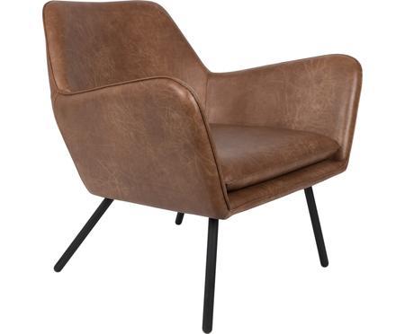 Kunstleren fauteuil Bon in industrial design