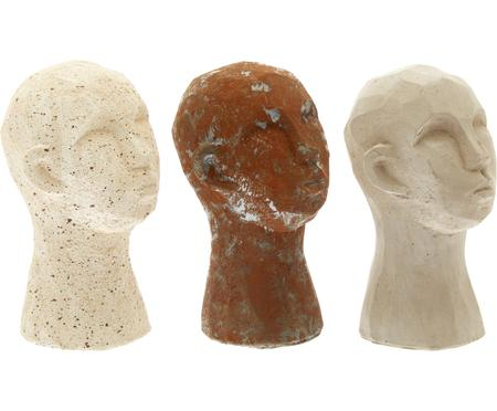 Decoratieve objectenset Figure Head, 3-delig