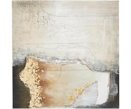 Handgeschilderd canvasdoek Texture