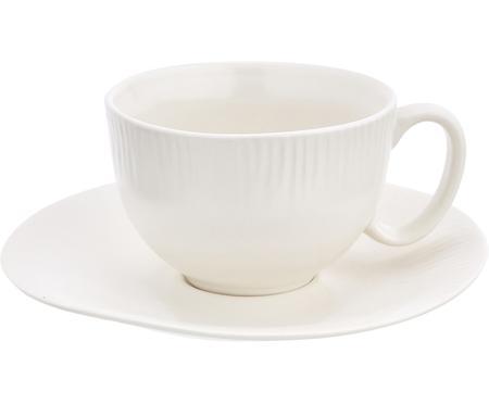Handgemaakte kop & schotel Sandvig