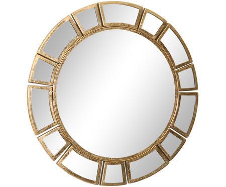 Ronde wandspiegel Amy met goudkleurige frame