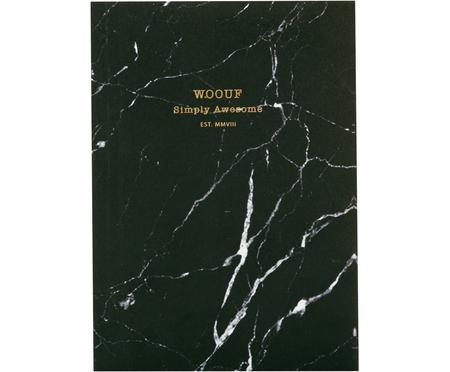 Notitieboek Black Marble