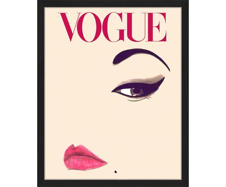 Ingelijste digitale print Oh So Lovely  Obsessions Vogue