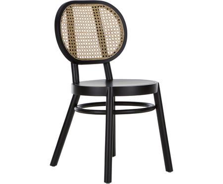 Houten stoel Retro met Weens vlechtwerk