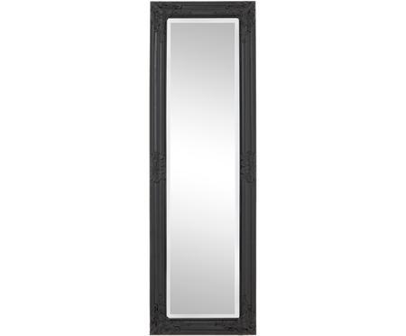 Wandspiegel Miro met zwarte houten lijst