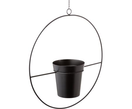 XL hangende plantenpot Undine van metaal