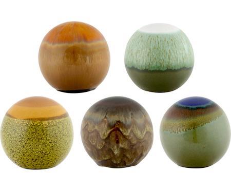 Decoratieve ballenset Energy, 5-delig
