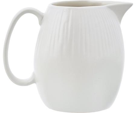 Handgemaakte melkkan Sandvig met lichte groef reliëf, 250 ml