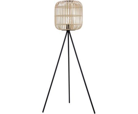 Driepoot vloerlamp Bordesley in boho stijl