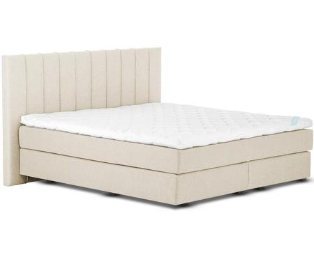 Beige Premium boxspring bed Lacey