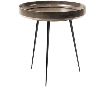 Design bijzettafel Bowl Table van mangohout