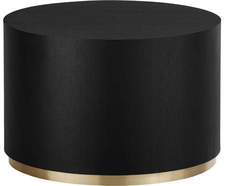 Ronde salontafel Clarice in zwart