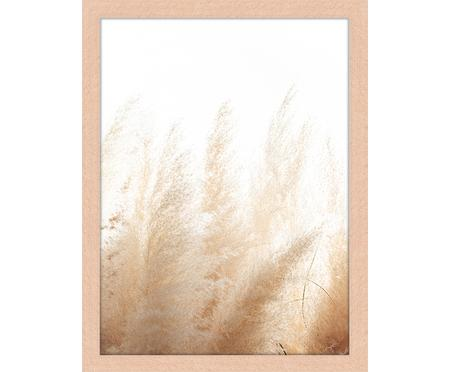 Ingelijste digitale print Pampa Grass