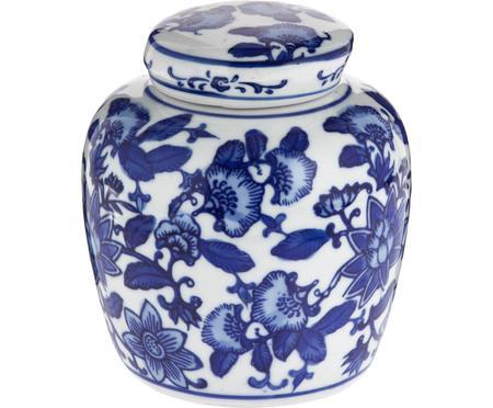 Kleine vaas met deksel Annabelle van porselein