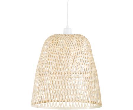 Handgemaakte hanglamp Eve van bamboehout