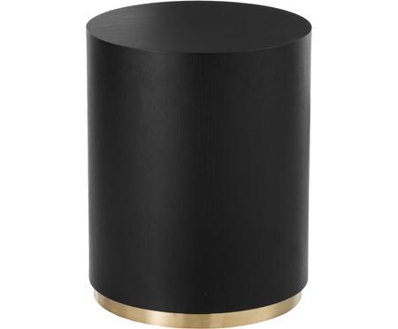 Bijzettafel Clarice in zwart