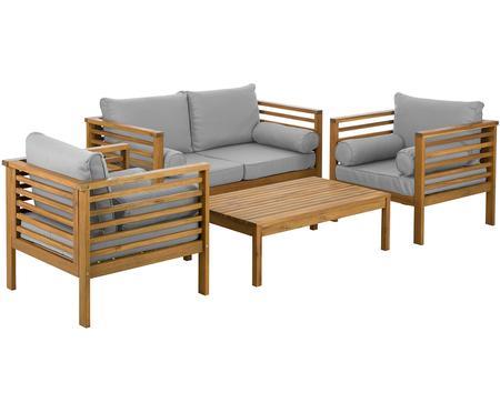 Outdoor loungeset Bo, 4-delig
