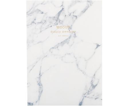 Notitieboek White Marble
