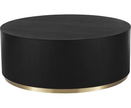 Grote salontafel Clarice in zwart