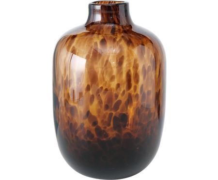 Glazen vaas Leopard