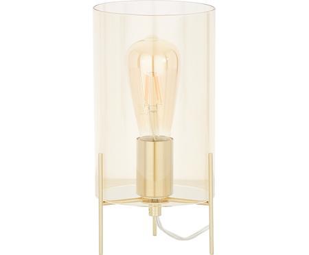 Tafellamp Laurel van gekleurd glas