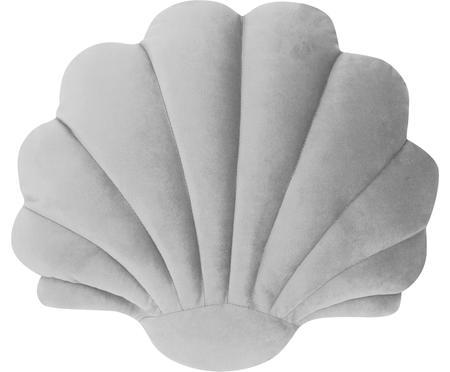 Fluwelen kussen Shell in schelp vorm