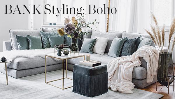 Bank styling: Boho