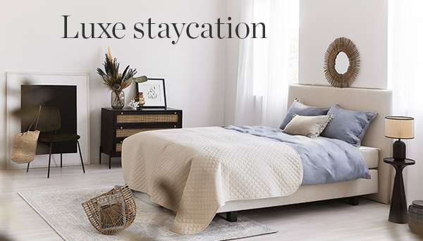 Luxe staycation