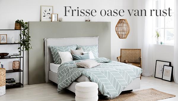 Frisse oase van rust