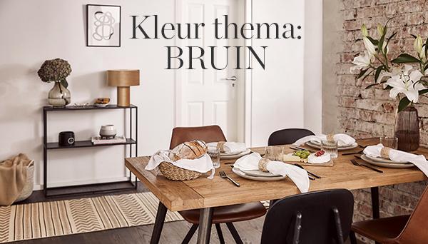 Kleur thema: BRUIN