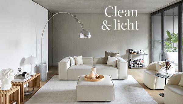 Clean & licht